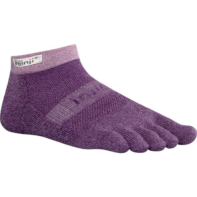 TRAIL MW Micros-Crew Socks Plum