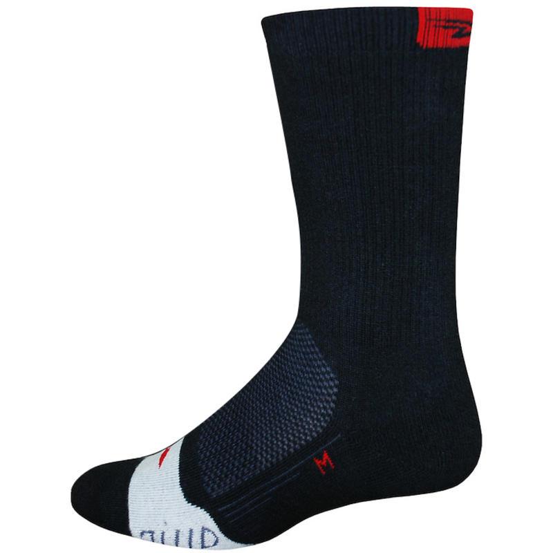 Chaussettes à fibres creuses Thermeator Noir/Rouge