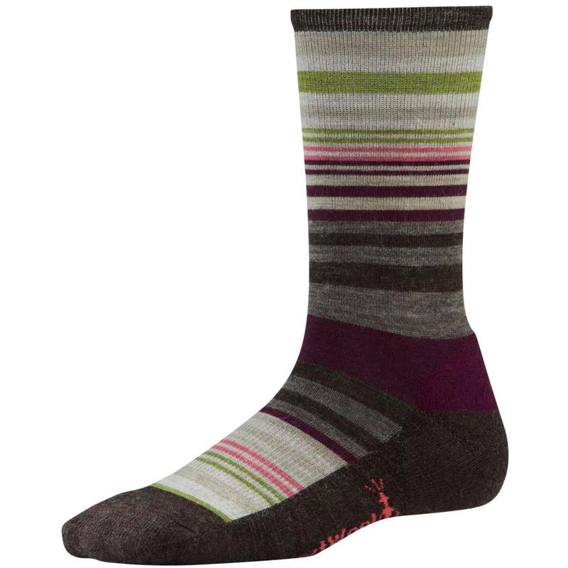 Jovian Stripe Socks Chestnut