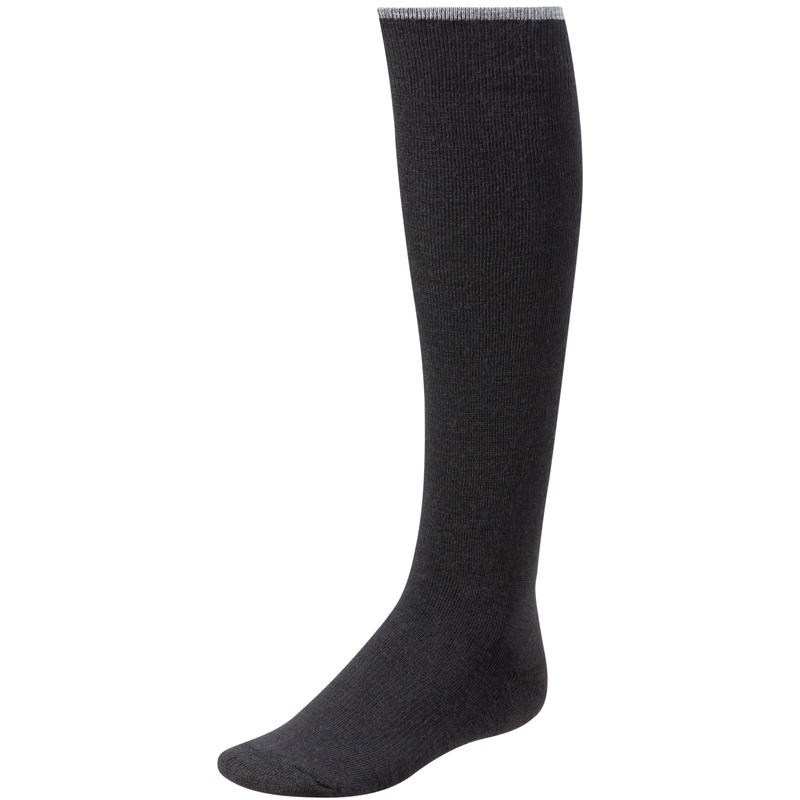 Basic Knee High Socks Black