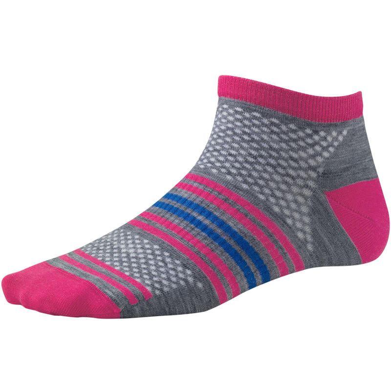 Sporty Spice Micro Socks Light Grey Heather