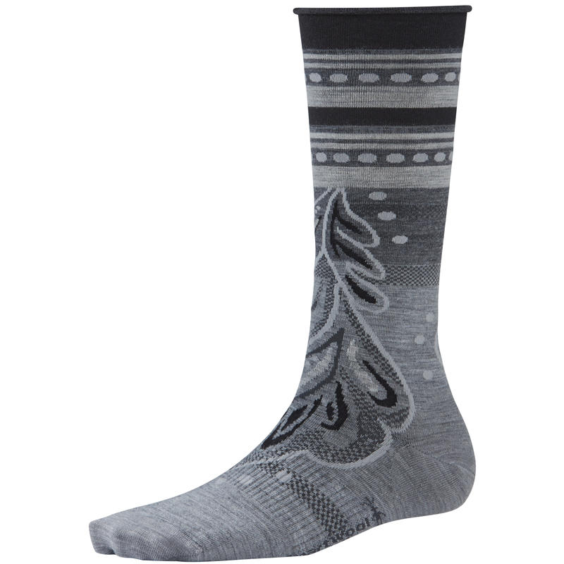 Feather Falls Socks Light Grey Heather