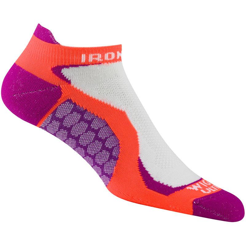 Ironman Run Fit Low Socks Hot Magenta