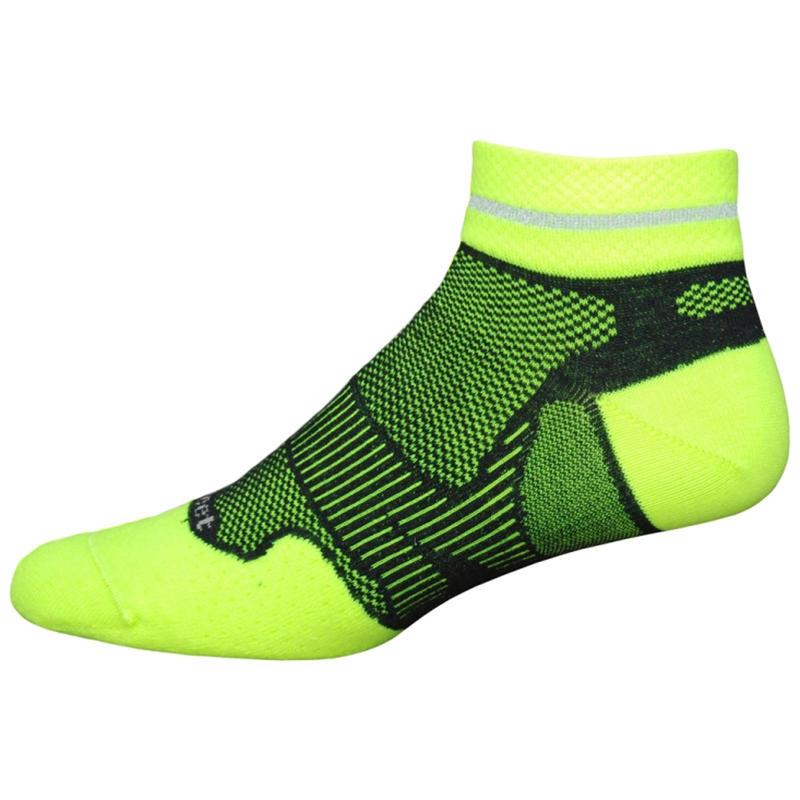 Meta I Reflector Socks Hi Viz Yellow/Black