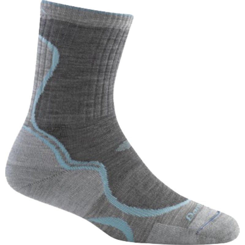 Light Hiker Micro Crew Sock Slate/Seafoam