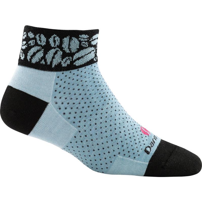 Beans Endurance UL Quarter Socks Aqua
