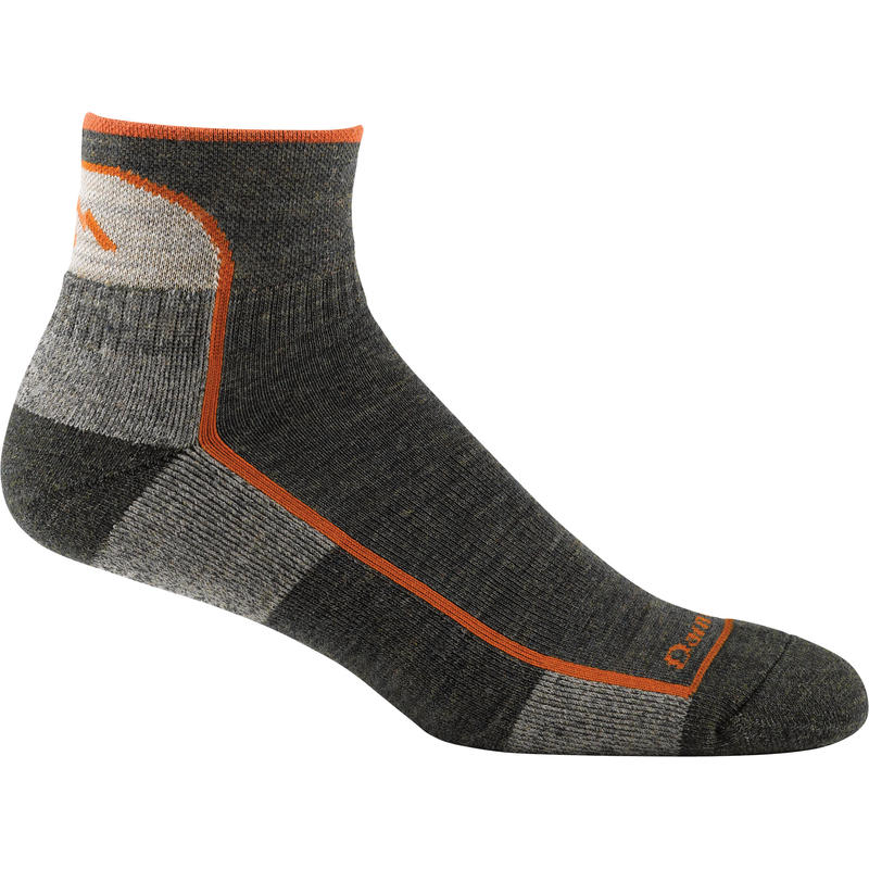 Lite Hiker Quarter Socks Olive