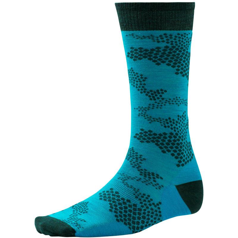 Chaussettes mi-mollet Camouflage Capri Blue Heather