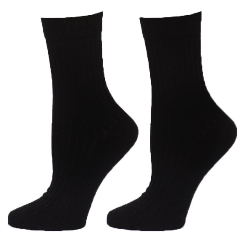 Crew Socks -2 Pack Black
