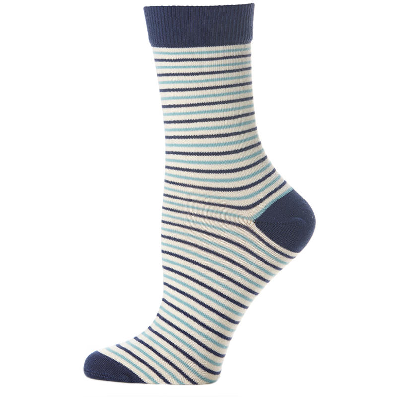 Crew Sock Horizon Stripe