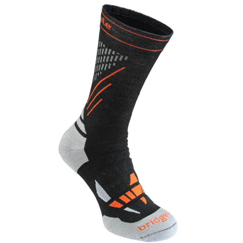 XC Race Nordic Ski Socks Black/Stone