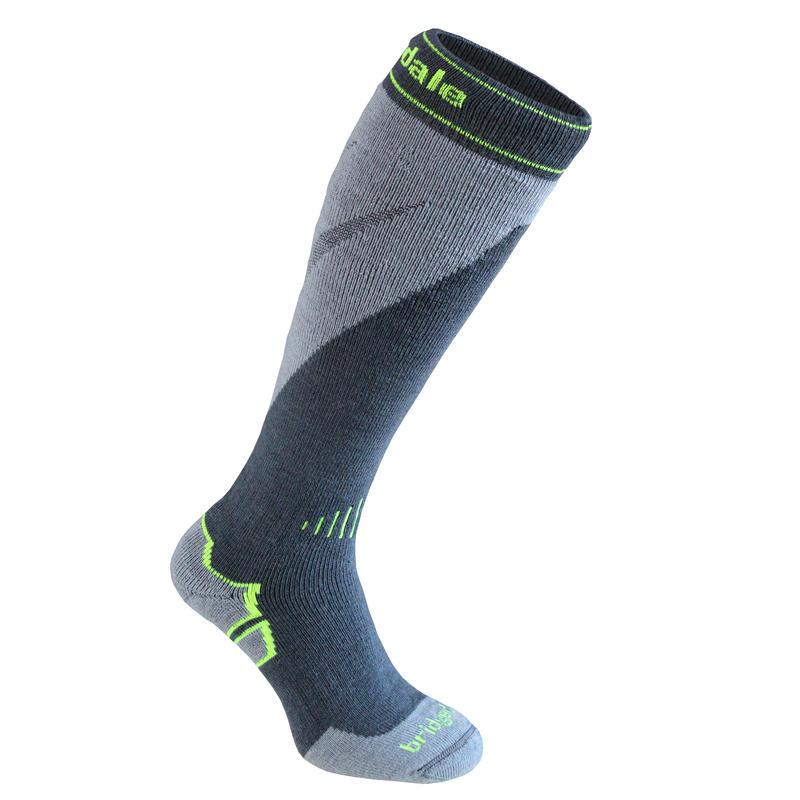 Mountain Ski Socks Gunmetal/Stone