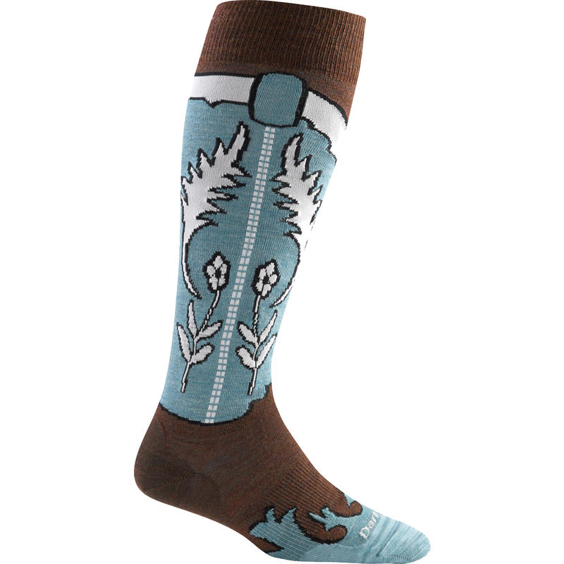 Annie Oakley Knee High Light Socks Leather