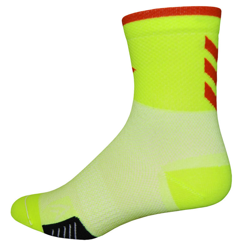 Chaussettes Cyclismo MT Yellow/Red