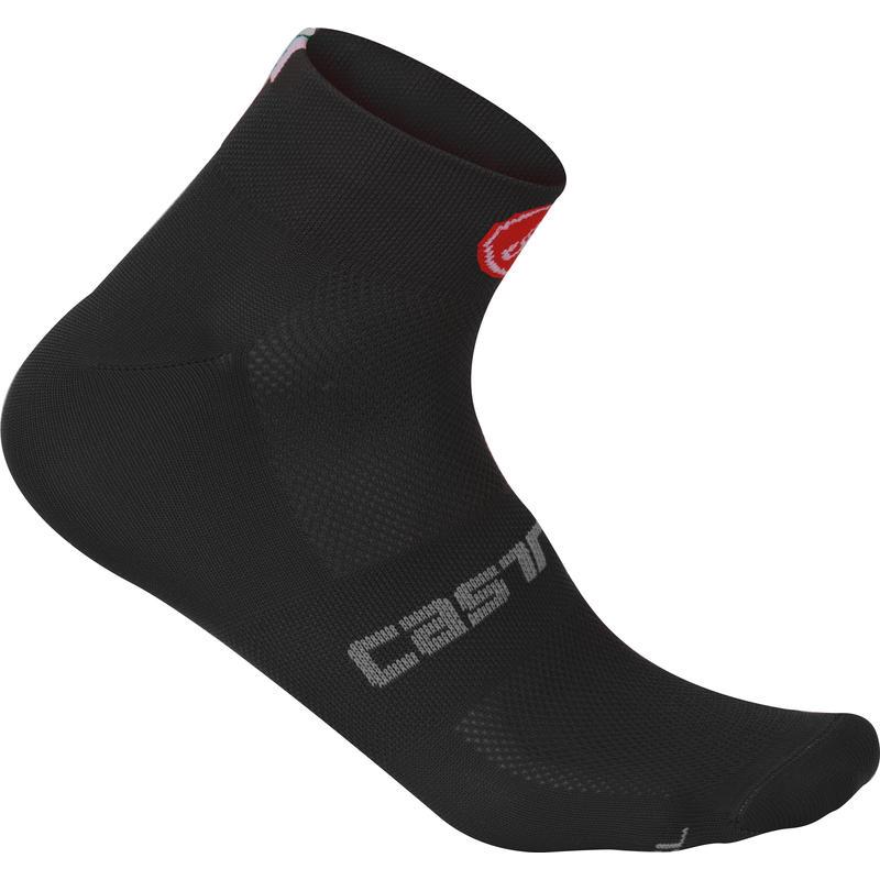 Quattro 3 Socks Black