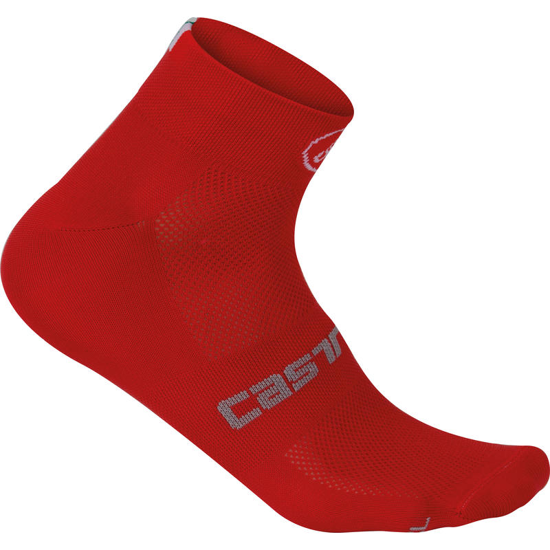 Quattro 3 Socks Red