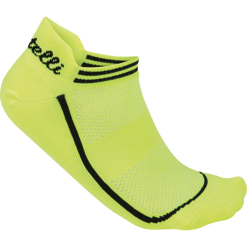 Invisible Socks Yellow Fluo
