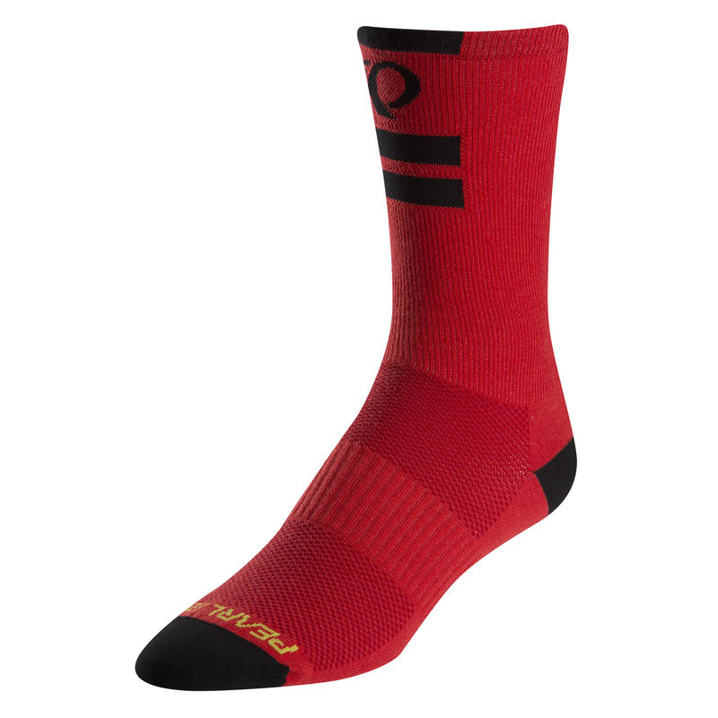 Chaussettes hautes Elite Processeur rouge PI
