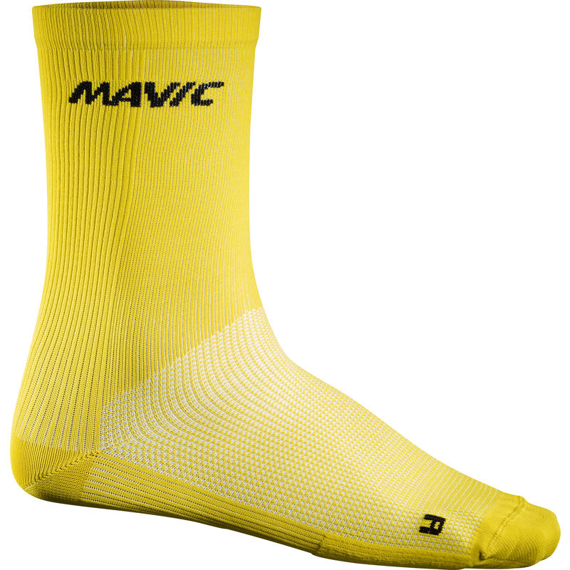 Cosmic High Socks Mavic Yellow