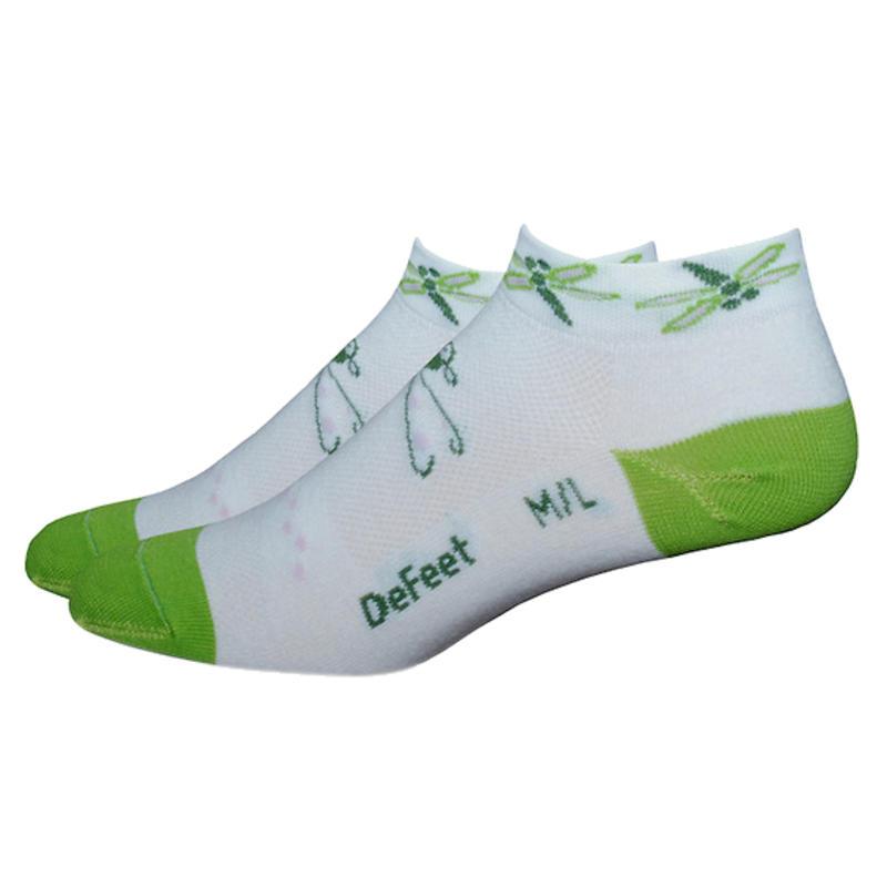 Speede Dragon Fly Socks White/Green