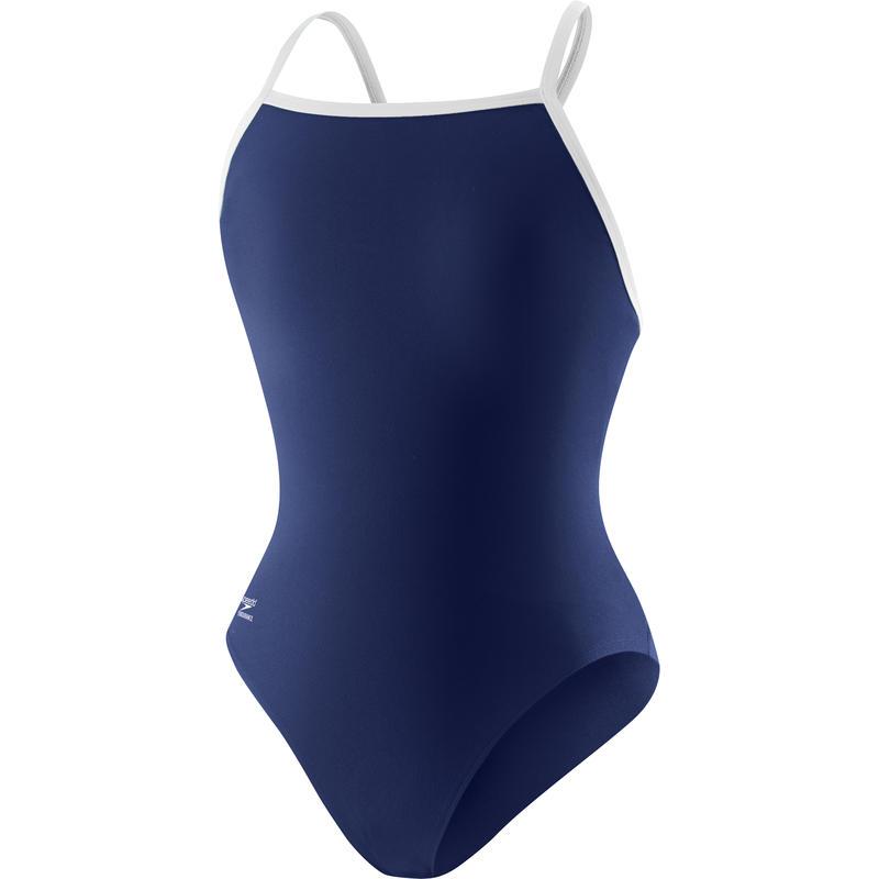 Flyback Training Swimsuit Navy