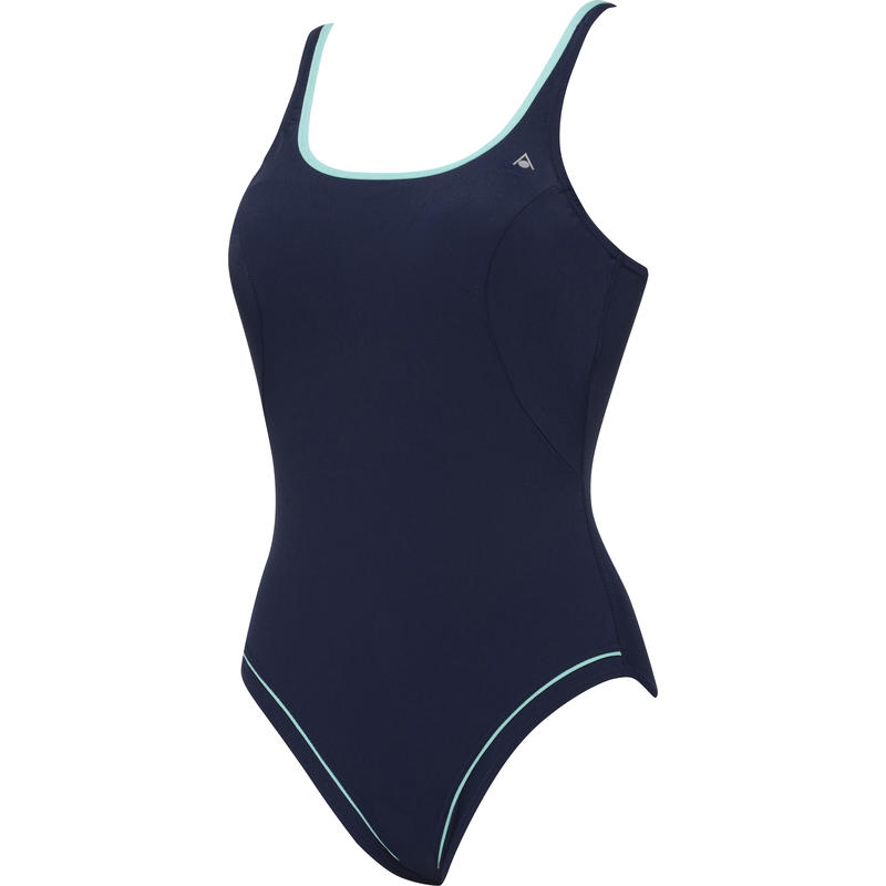 Lulu Swimsuit Navy/Light Green