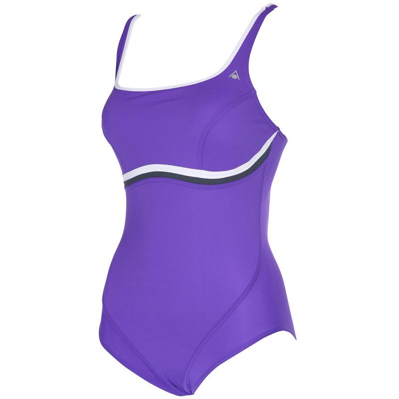 Nazca Swimsuit Purple/White