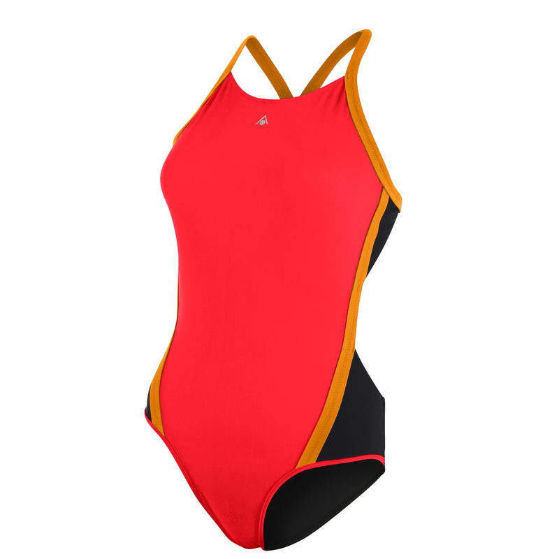 Cindy Swimsuit Red/Bright Orange