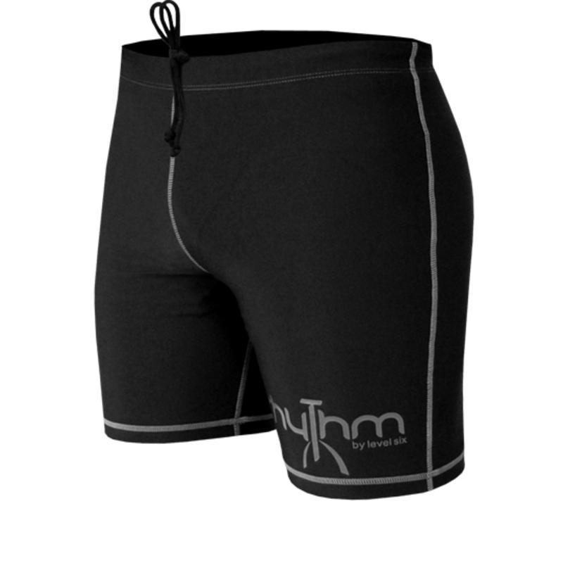 Rhythm Padded Shorts Black