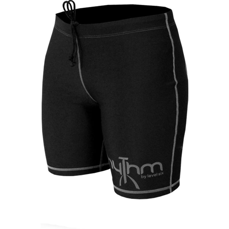 Rhythm Padded Shorts Black