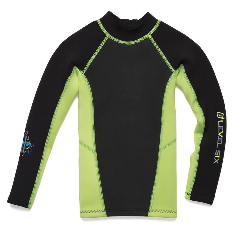 Carver Long Sleeve Top Kiwi Green