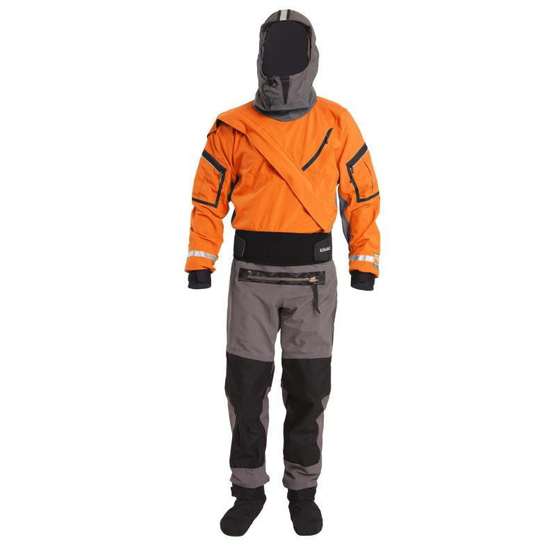 Gore-Tex Expedition Dry Suit Tangerine/Grey