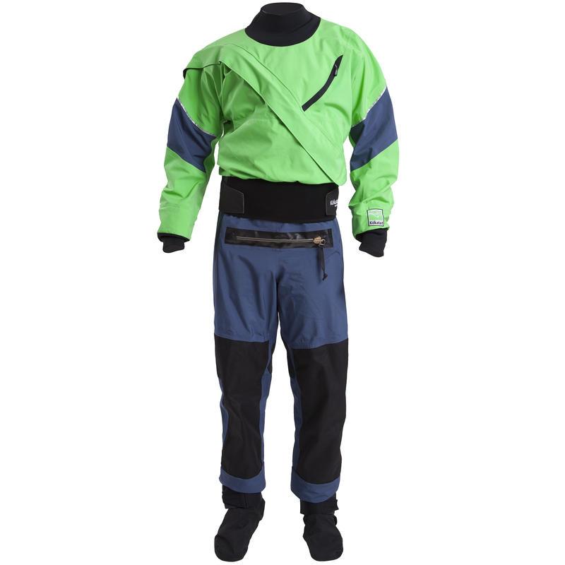 Gore-Tex Meridian Dry Suit w/Socks& Relief Zip Leaf/Denim