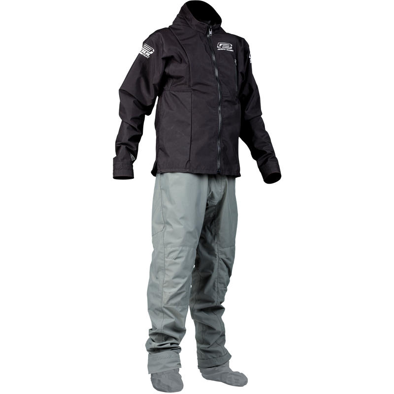 Heat Dry Suit w/Socks Black/Grey
