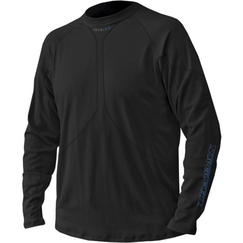 Superfuzz Long-Sleeved Top Black/Riverstone Grey
