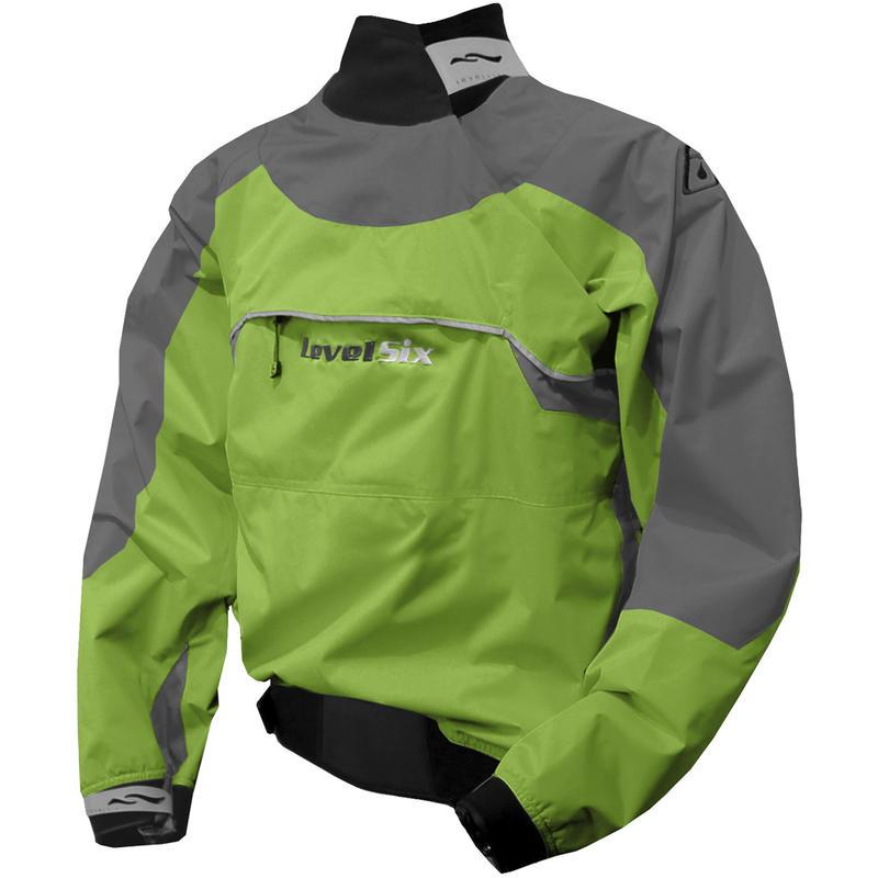 Merlin Long-Sleeved Paddling Top Kiwi Green/Riverstone