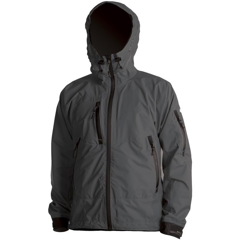 Manteau à glissière en GORE-TEX Graphite
