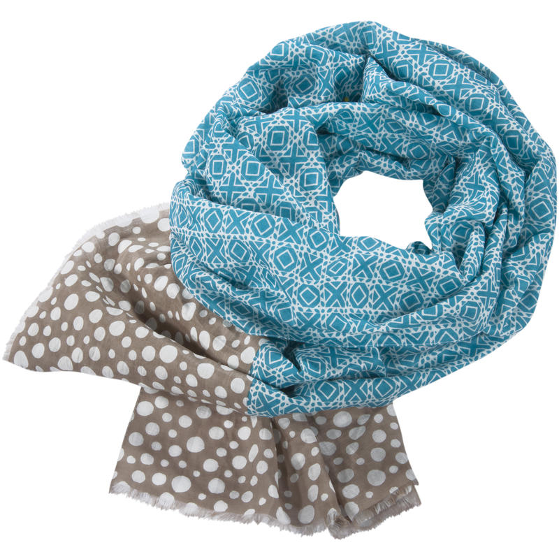 Foulard Pippet Turquoise