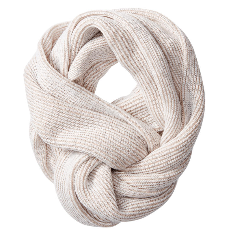Foulard éternité Rib Naturel