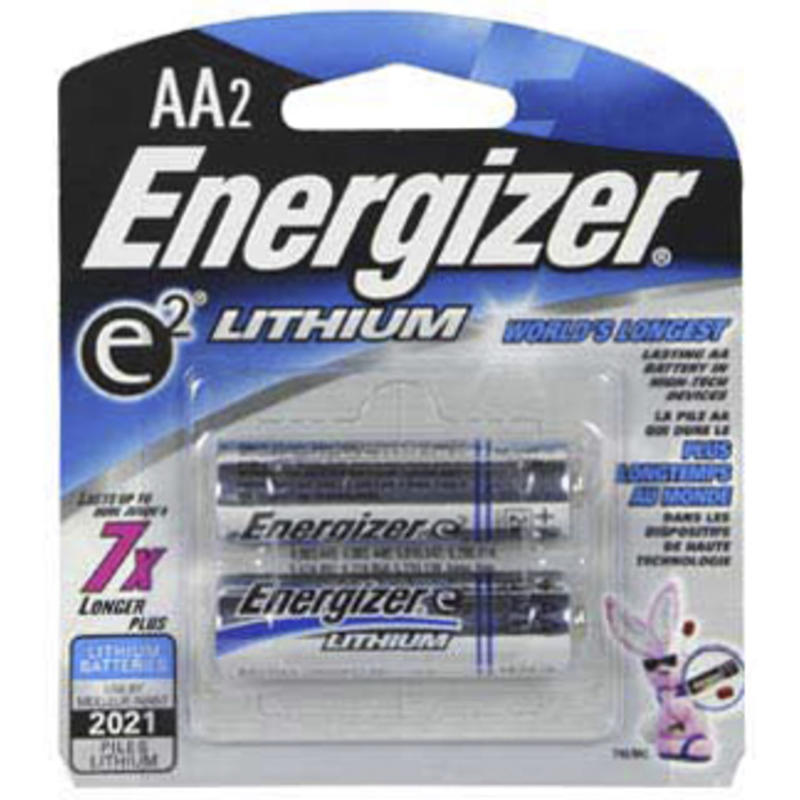 Lithium AA 2 Pack Batteries