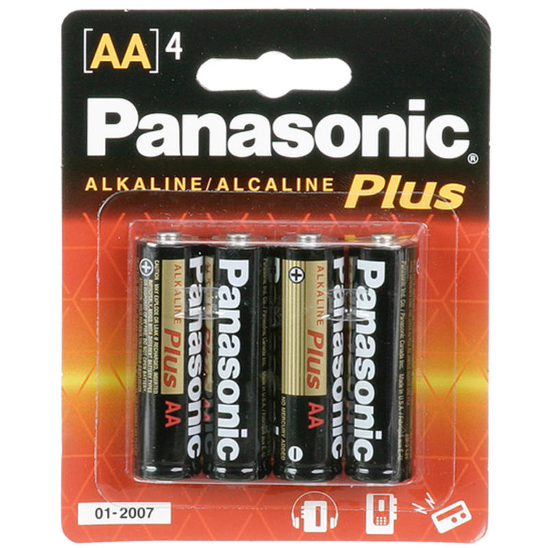 4 Pack AA Batteries