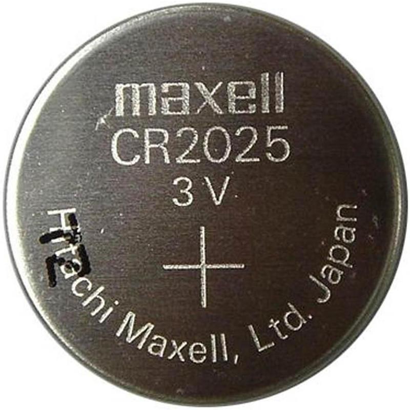 Paquet de 2 piles CR2025 3V