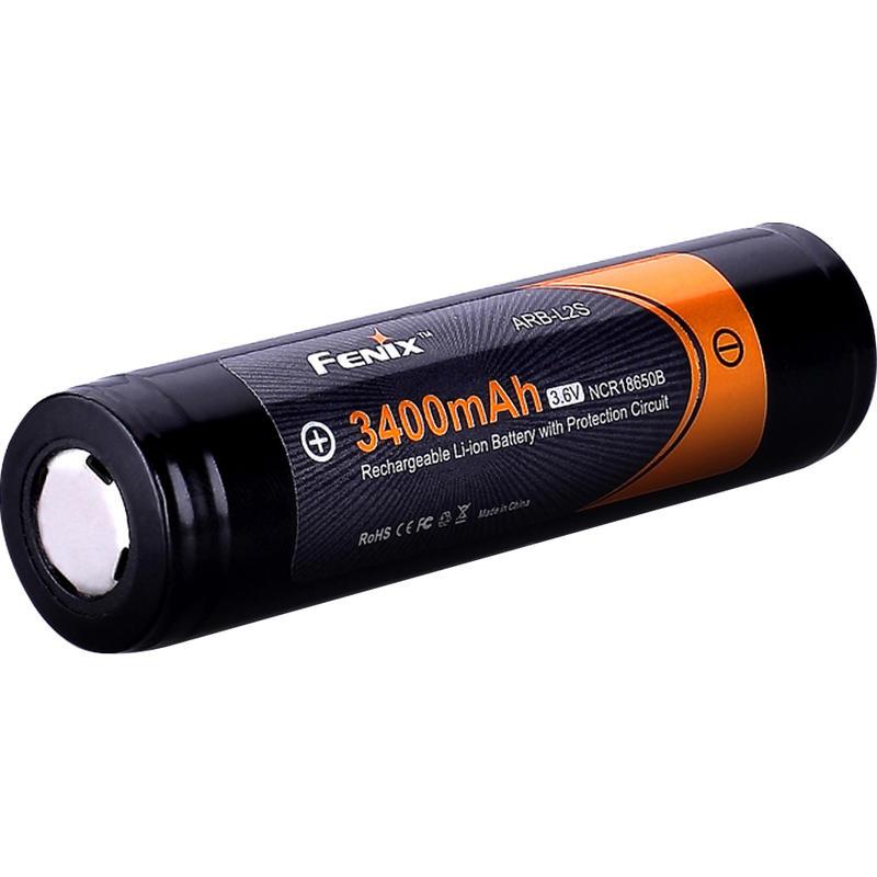 ARB-L2S Rechargeable 18650 Li-Ion Battery