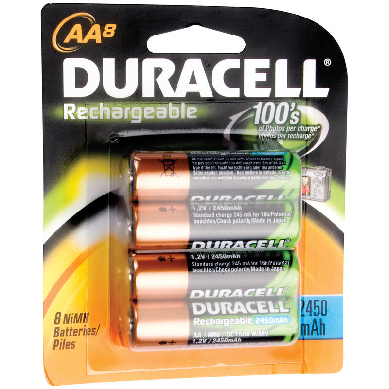 Rechargeable AA 8 Pack