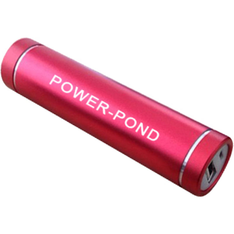 Chargeur Cylinder Powerbank Rouge