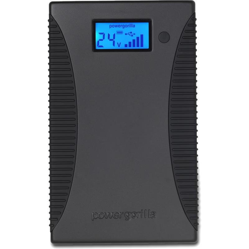 Chargeur PowerGorilla 5 V à 24 V Noir