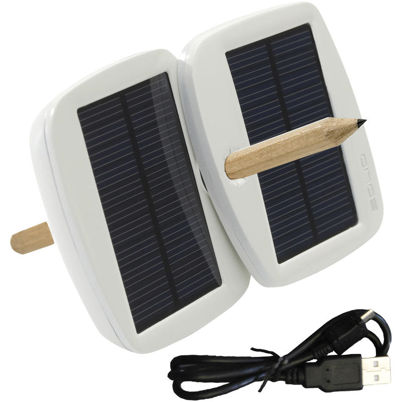 Bolt Solar Charger Pearl White