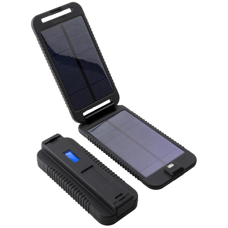 Chargeur solaire PowerMonkey Extreme Noir