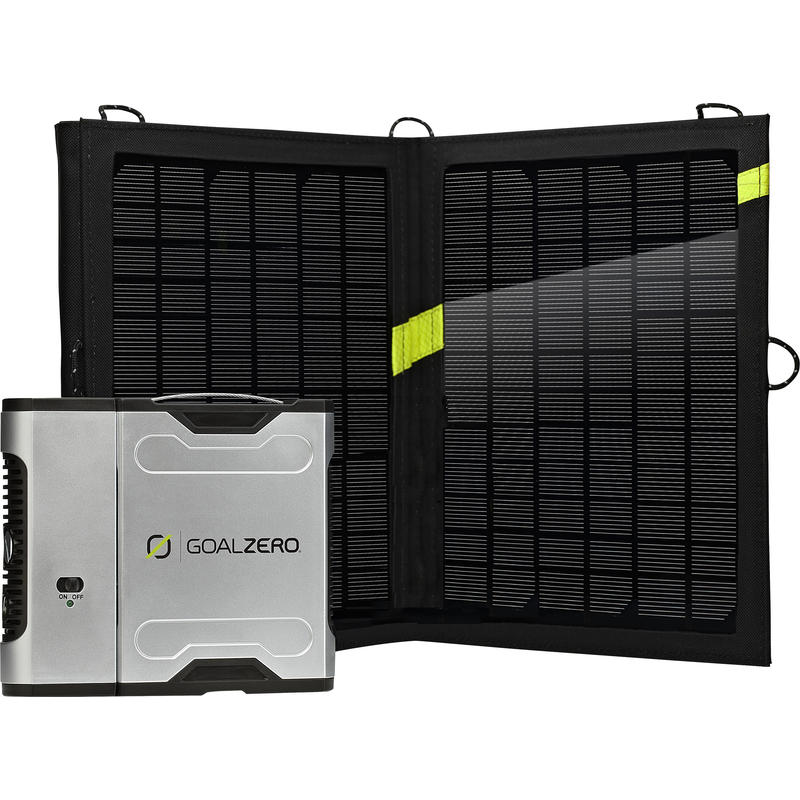 Sherpa 50 Solar Recharging Kit with 110V Inverter