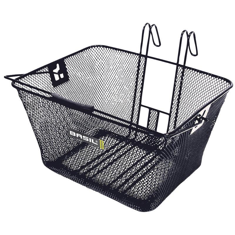 Bern Front Basket Black